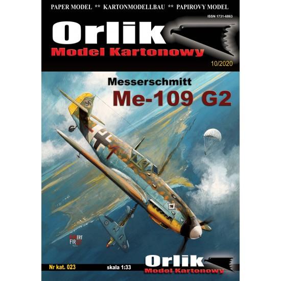 023.  Messerschmitt Me-109 G-2