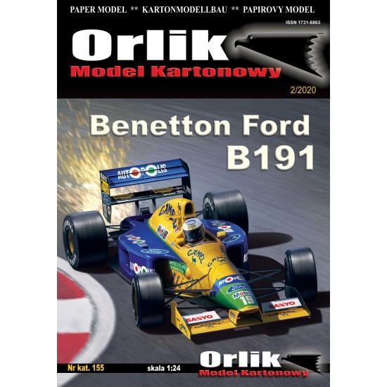 155. Benetton Ford B191