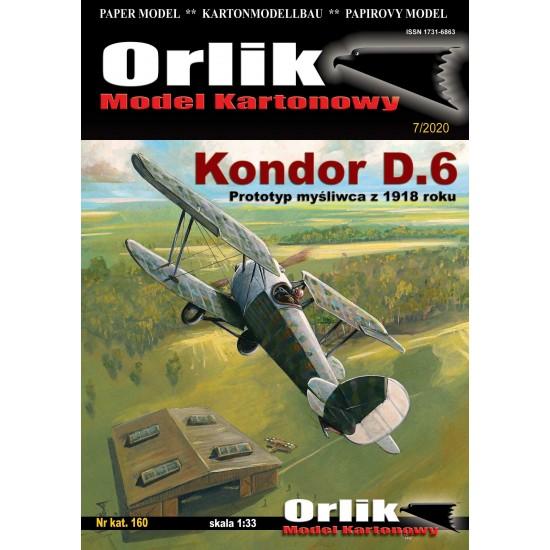 160. Kondor D.6