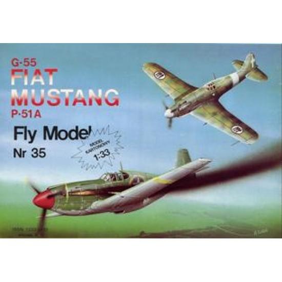 Fiat G-55 & P-51A Mustang
