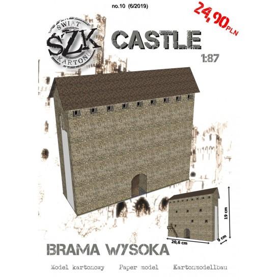 CASTLE 010 - Brama wysoka