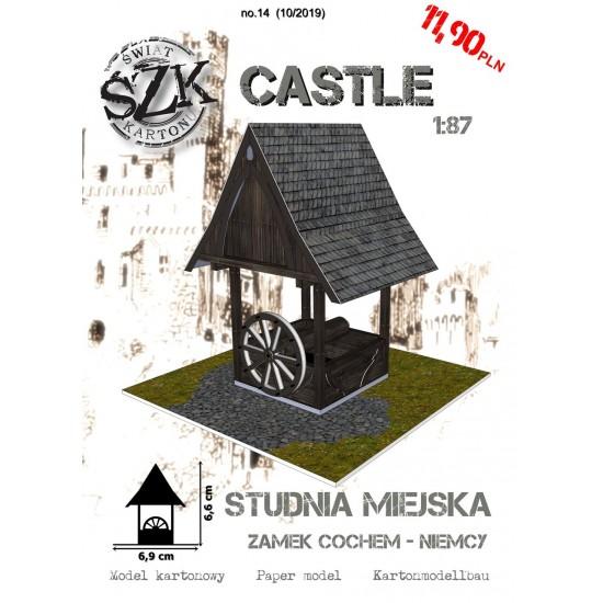 CASTLE 014 - Studnia miejska z zamku COCHEM