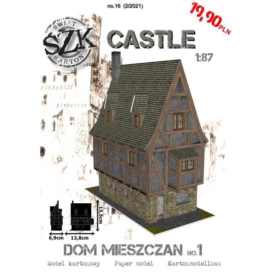 CASTLE 016 - Dom miejski no.1