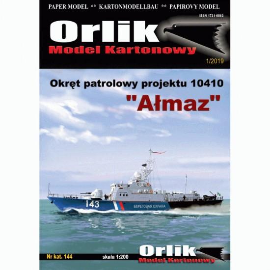 144. Okręt patrolowy pr. 10410 Ałmaz