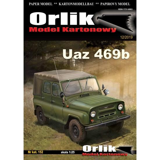 152. Samochód terenowy UAZ-469b