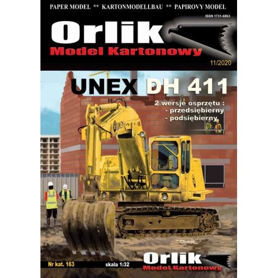 163. Koparka UNEX DH 411