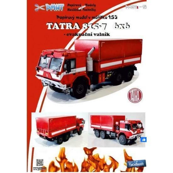 Tatra 815-7 6x6 - wóz ewakuacyjny