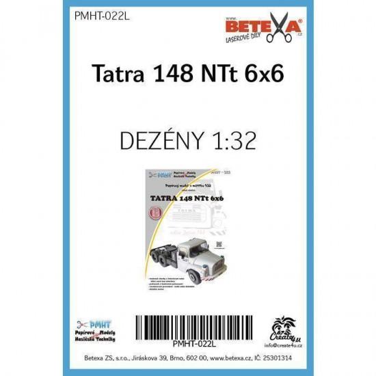 Tatra 148 NTt 6x6  - laserowo wycinane  bieżniki