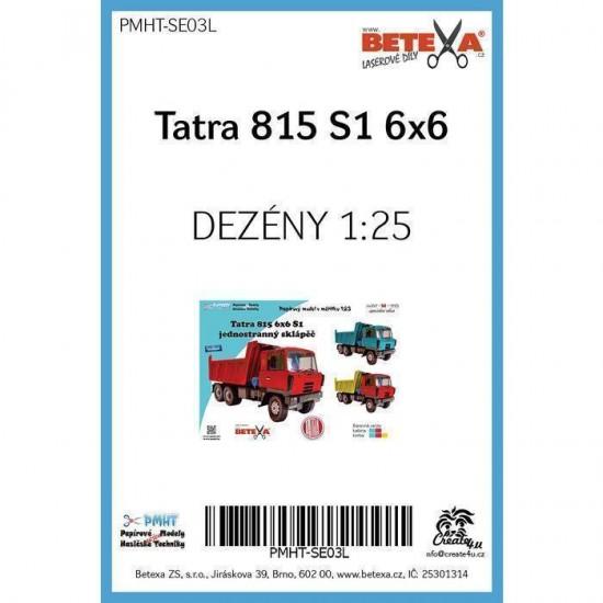 TATRA 815 S1 6x6  - laserowo wycinane  bieżniki