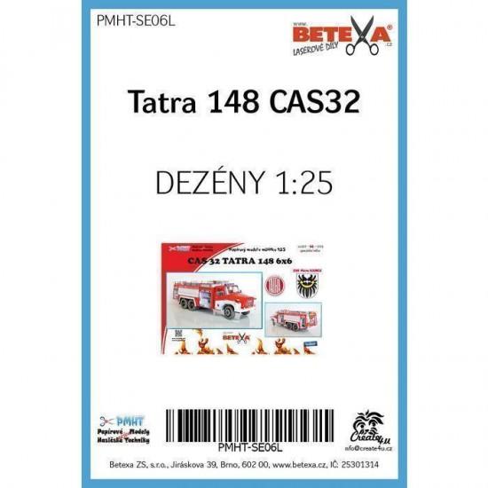 TATRA 148 CAS32  - laserowo wycinane  bieżniki