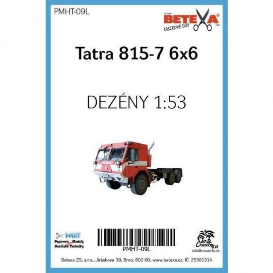 Tatra 815-7 6x6  - laserowo wycinane  bieżniki