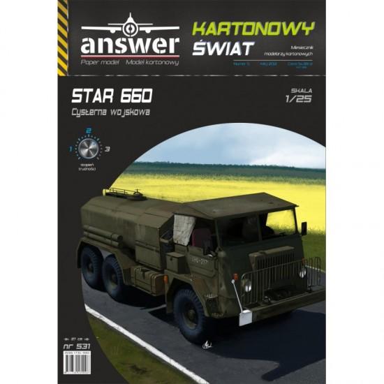 STAR 660 cysterna