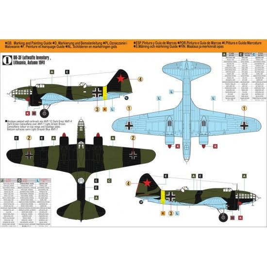 DB-3F Luftwaffe Test