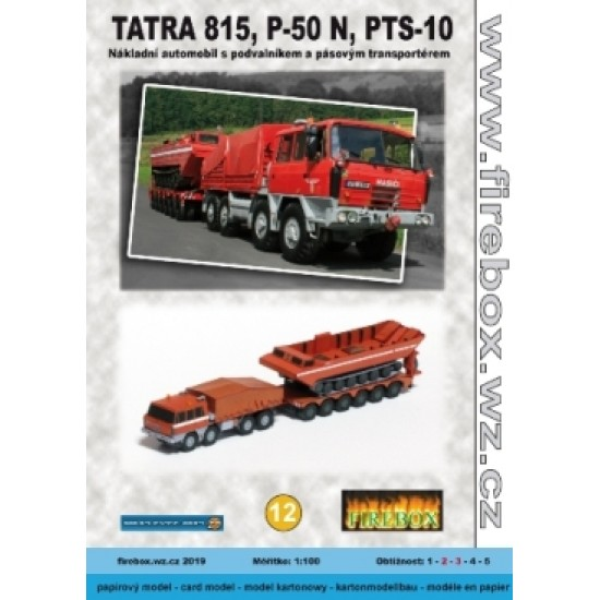 Tatra 815, P-50N, PTS-10