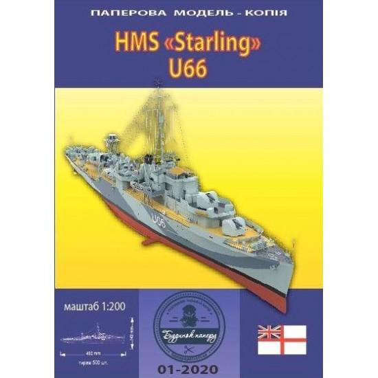 HMS STARLING U66