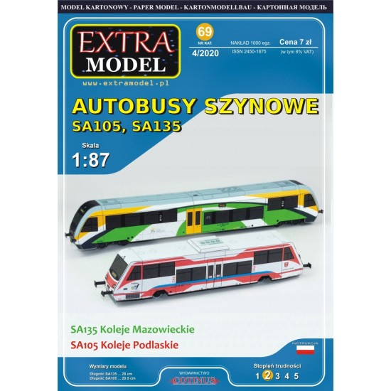 Autobusy Szynowe SA105  i  SA135