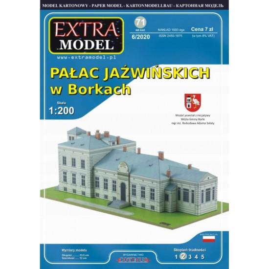 Pałac Jaźwińskich w Borkach