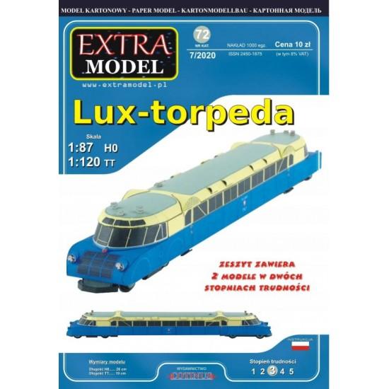Lux-torpeda  - 2 modele H0/TT