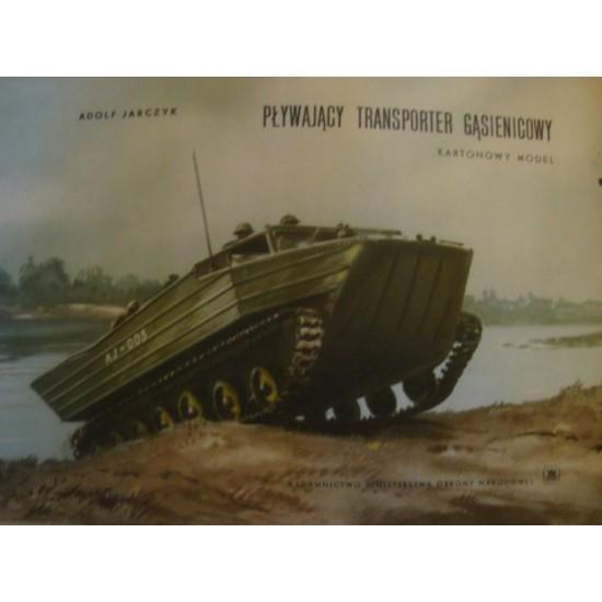 Pływający transporter gąsienicowy