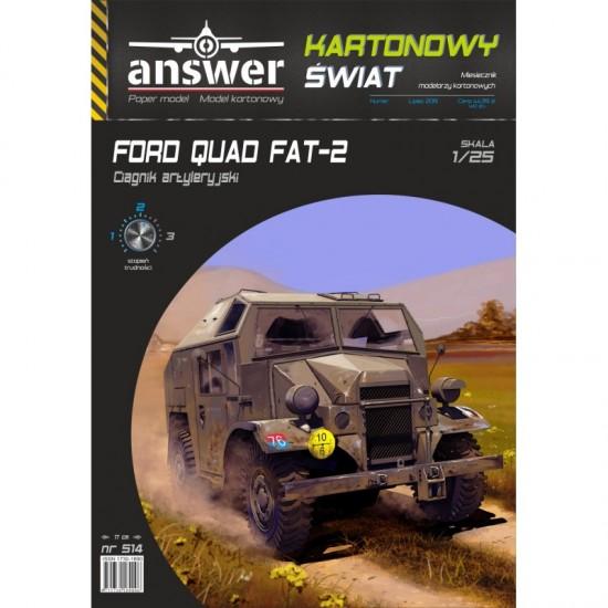 Brytyjski ciągnik artyleryjski FORD FAT