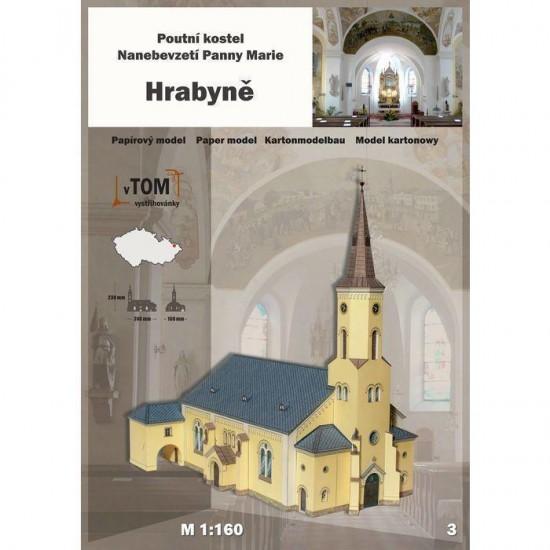 Kościół pielgrzymkowy Wniebowzięcia Najświętszej Marii Panny - Hrabyně