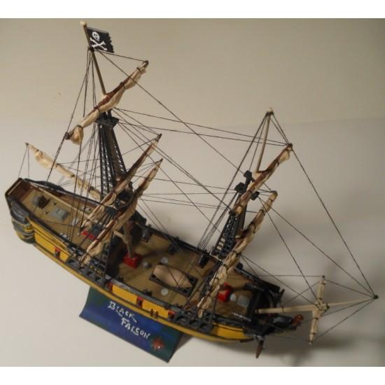 Statek piracki  BLACK FALCON 1:120