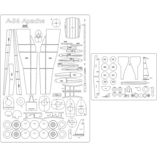 A-36 Apache - szkielet