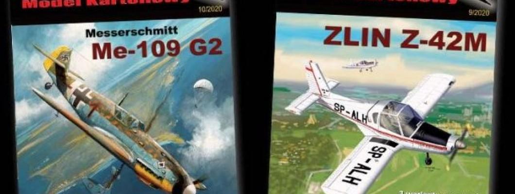 Nowe modele z Orlika  - ZLIN Z-42M i Messerschmitt Me-109 G-2