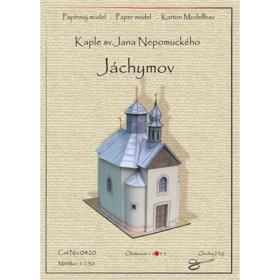 Kaplica pw. św. Jana Niepomucena - Jachymov