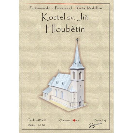 Praga-Hloubetin - kościół pw. św. Jerzego