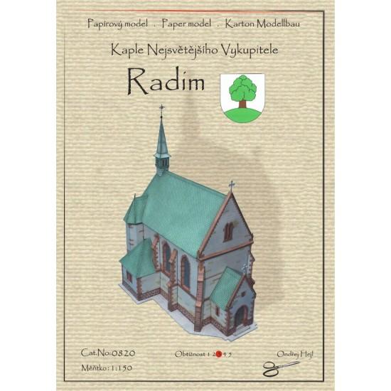 Radim - kaplica pw. Najświętszego Odkupiciela