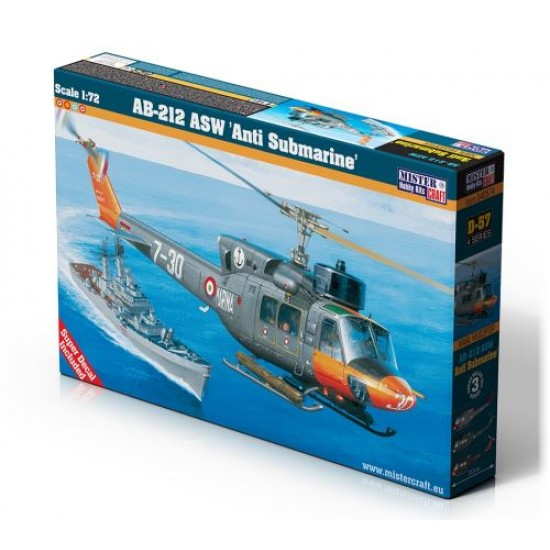 "AB-212 ASW ""ANTI SUBMARINE"" 1:72"