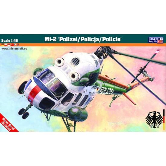 """Mi-2 """"Polizei/Policja/Policie"""" 1:48"""
