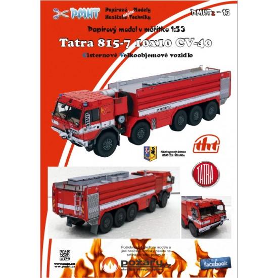 CV 40 Tatra 815-7  10x10 - cysterna