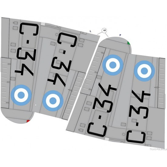 FIAT G.55B 'WŁOCHY/ARGENTYNA'