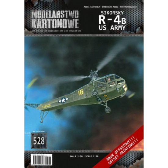 SIKORSKY R-4B US ARMY- 1/50