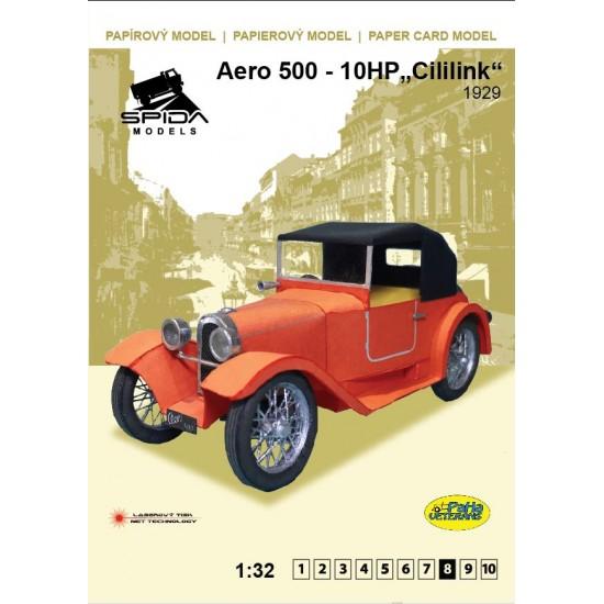 """Aero 500 - HP 10 """"Cililink"""" 1929"""