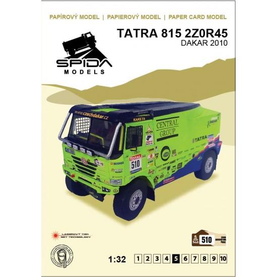 Tatra 815 2Z0R45 – Dakar 2010 – Marek Spáčil