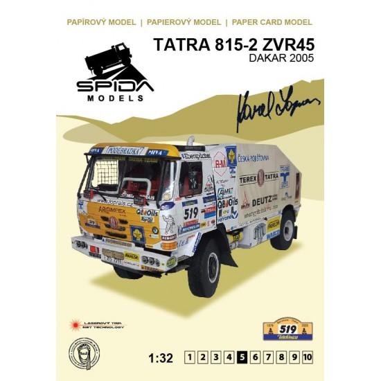 Tatra 815-2  ZVR45 – Dakar 2005