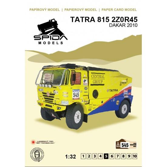 Tatra 815 2Z0R45 – Dakar 2010 – Martin Kolomý