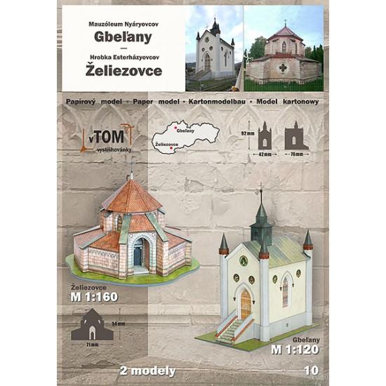 Gbel'any / Zeliezovce - mauzolea