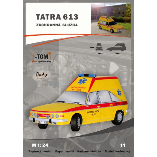 Tatra 613 - karetka pogotowia