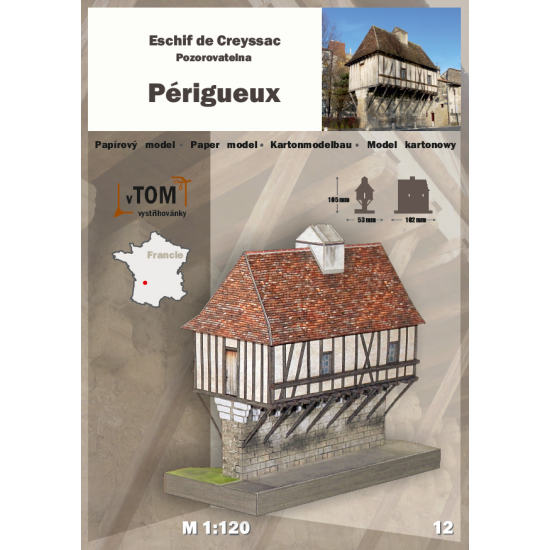 Escif de Creyssac z Périgueux we Francji