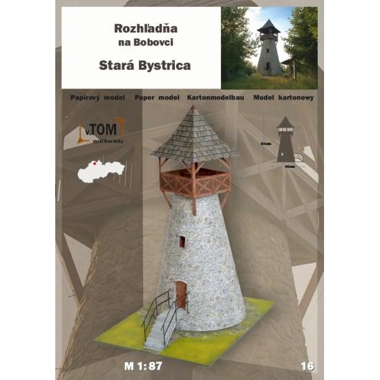 Staré Bystrice - wieża widokowa