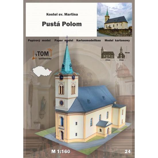 Pusta Polom - kościół pw. św. Marcina