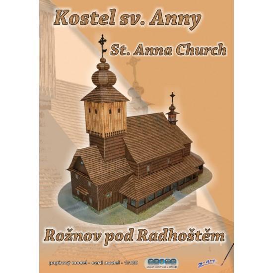Kościół św. Anny – Rožnov p. Radhoštěm