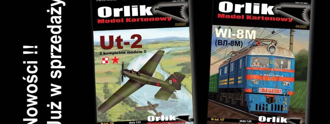 Nowe modele z Orlika -  kwiecień 2020