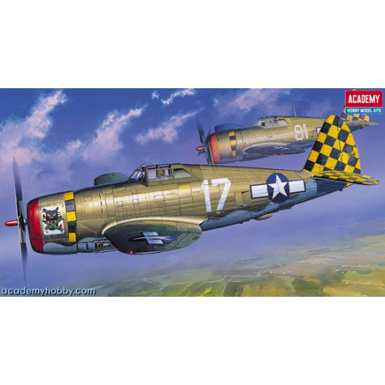 "P-47D THUNDERBOLT ""RAZOR-BACK"""