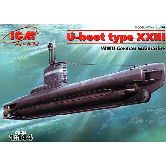 U-Boot type XXIII WWII German submarine
