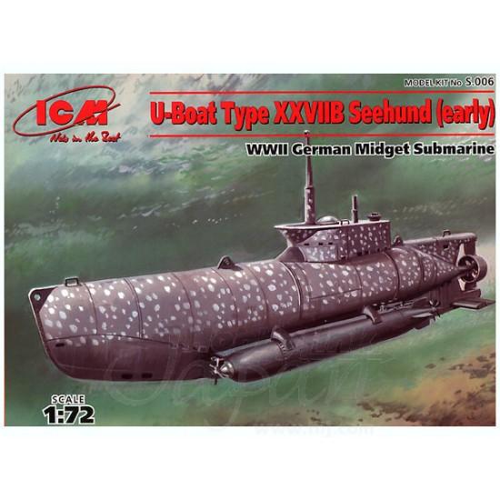 U-Boat Type XXVIIB Seehund
